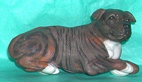 DOG Staffordshire Bull Terrier Magnet #1