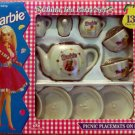 Barbie 13 piece China Tea Party Set