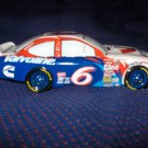 Collectible Mark Martin Ceramic Stock Car Salt and Pepper Selt