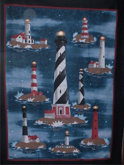 Lighthouse Fabric F9