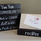 Magnetic Recipe Card Holder