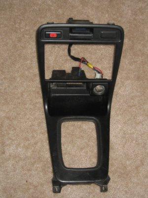 94-97 Honda Accord Radio Trim Shifter Bezel