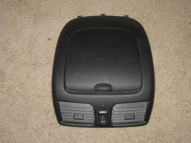 00 06 Nissan Sentra Dash Vents Storage Bin Black