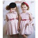 Size 100 - Girls Lovely Heart-Shaped Dress