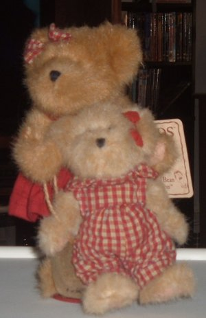 Boyds Bear Alexandria and Jessica Berry Friends
