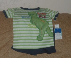 NEW 2t BOYS Healthtex summer pajamas
