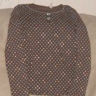 size 14 LIMITED TOO stars and dots shirt