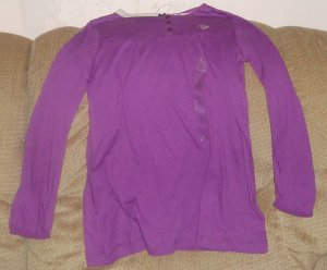 NEW 6/7 TOMMY Hilfigure purple shirt