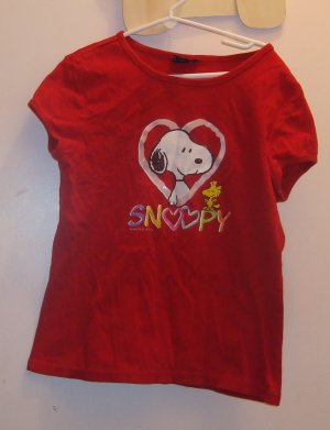 size 12 Limited Too Snoopy Tee