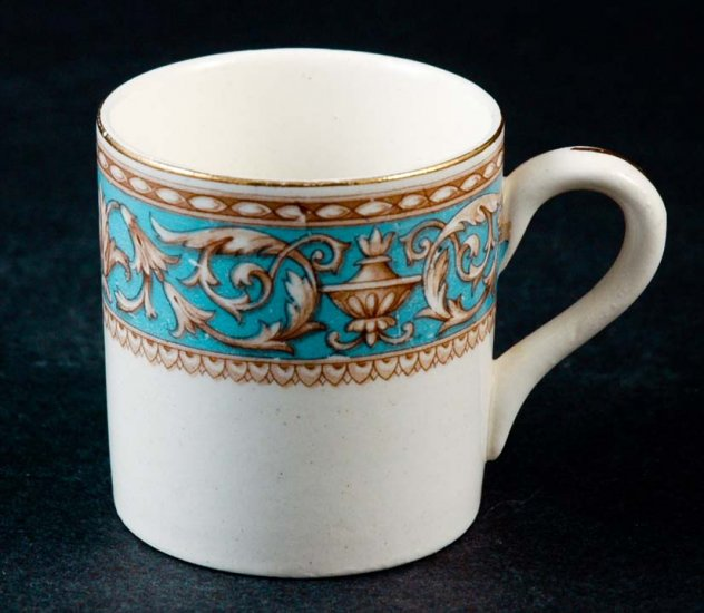 Made in ENGLAND DEMITASSE - CHILD'S CUP Blue & White