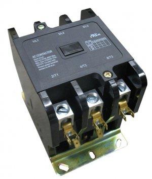 New Definite Purpose AC Contactor 3-Pole 40A 10 HP 24VAC HVAC