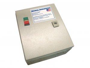 Elimia DOL Magnetic Motor Starter 50 HP 480V 48 - 65A Hinged Steel Enclosure
