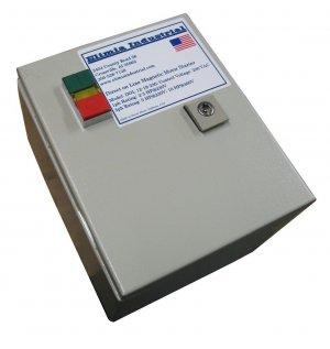 Elimia Reversing Magnetic Motor Starter 4-6A 240V IP65 Sealed Steel Enclosure