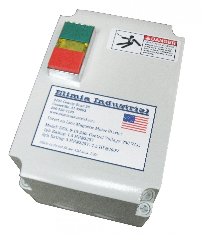 Elimia ACMS 5.5-8-480LC 5 HP 480V Air Compressor Motor Starter Nema 4X NEW!