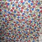 """Cotton Fruit Design Fabric Apples, Grapes, Pears 44"""" x 48"""" 1 2/3 yds"""