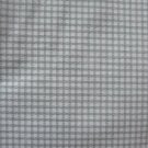 "Vintage Green and White Gingham Check Cotton Fabric 6 pieces each 28"" x 17"""