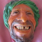 Vintage Bosson Kurd Chalkware Head