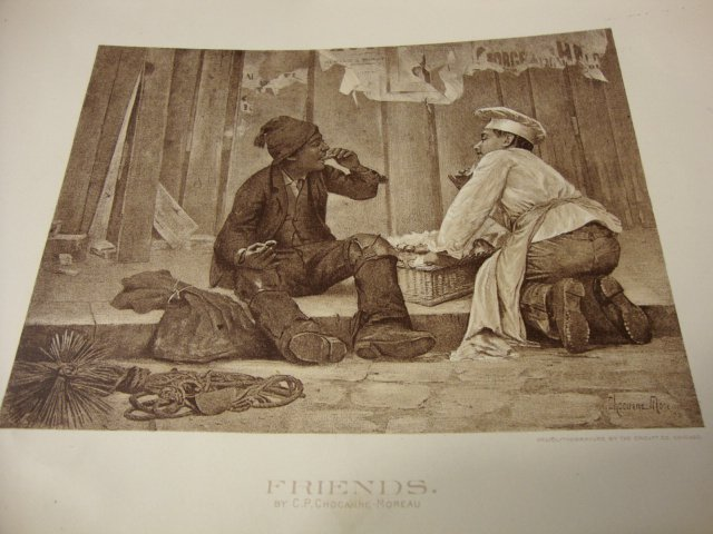 Lot of 5 Lithographic Prints Made for Columbian Exposition of 1893 -- Orcutt Co.