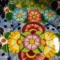 Talavera by Castillo Mexican Redware Decorative Bowl