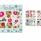 Hello Kitty Hibiscus Temporary Tattoo Set