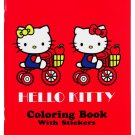 Hello Kitty Tricycle Coloring Book