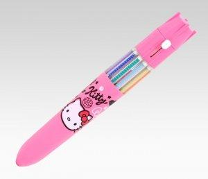 Hello Kitty 10C Ballpoint Pen - Squiggle