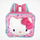 Hello Kitty Ribbon Plush Backpack