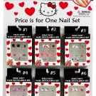 Hello Kitty Assorted Nail Decoration Set - FOR DESIGN #3 ONLY