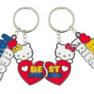 Hello Kitty Best Friends Key Ring Set