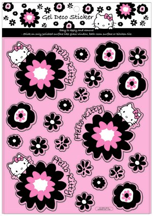 Hello Kitty Blossom Deco Sticker