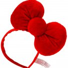 Hello Kitty Big Red Plush Bow Headband