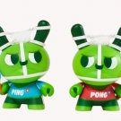 Kidrobot Dunny 2012 Series - Ping & Pong by Mauro Gatti