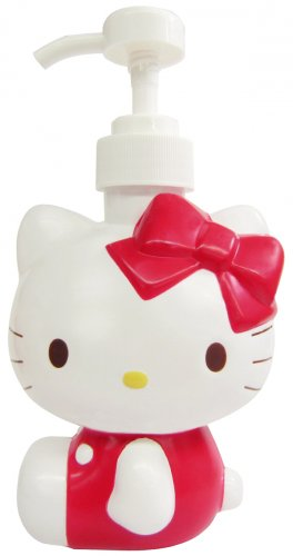 Hello Kitty Red Diecut Soap Dispenser Bottle