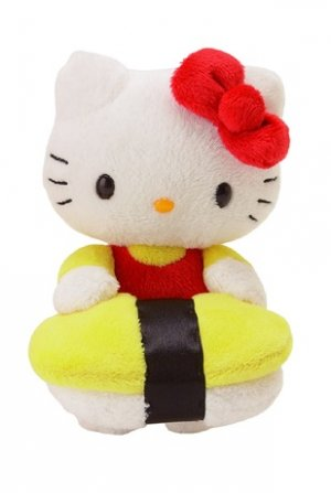 Hello Kitty Tamago Sushi Mascot Plush