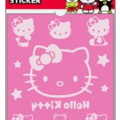 Hello Kitty Flocky Iron-On Sticker - Face