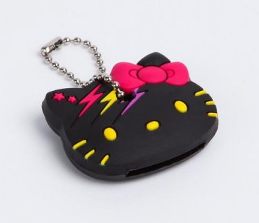 Hello Kitty Glam Rock Key Cap - Black