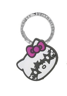 Hello Kitty Assorted Funny Face Key Cap with Key Ring - Star