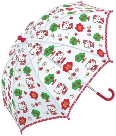 Sanrio Hello Kitty Kids Vinyl Umbrella - Apple Tree