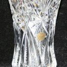 CRISTAL d'ARQUES FRANCE LEAD CRYSTAL GLASS VASE FLOWER