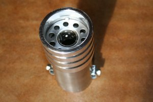 """Aluminum & Stainless Steel Turbo Exhaust Tip fits up to 2 1/4"""" pipe $10.00"""