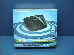 Linksys WRT160N Wireless N WiFi Router w/ Ultra Range+