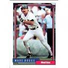 1992 Topps # 10 Wade Boggs Boston Red Sox Baseball Card