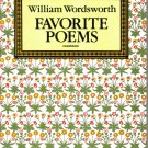 William Wordsworth Favorite Poems