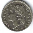 1935 5 Francs Coin
