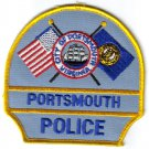 City Of Portsmouth Police Patch