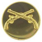 Military Police Cross Pistols Pin