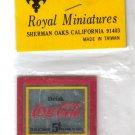 Royal Miniatures Coca Cola Mirror