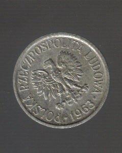 Poland 5 groszy 1963