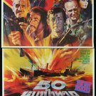 Original THE SEA WOLVES 2 Sheet Thai Movie Poster