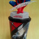The Amazing Spider man 2 2014 Figures web Topper Toys & Cup  No Action Blu Ray